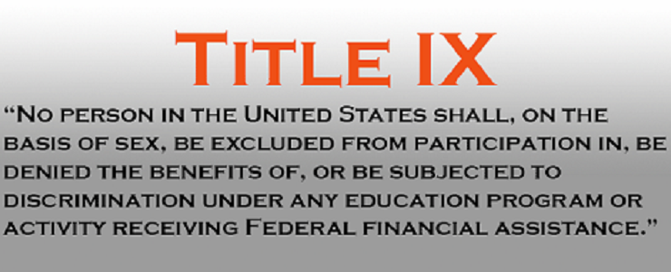 Training for title ix sexual harassment