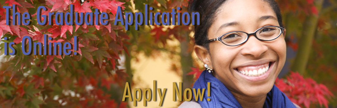 The Graduate Application is online October 1