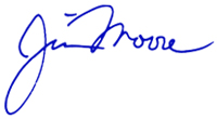 Jim Moore Signature